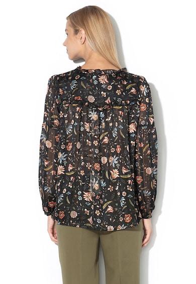 Pepe Jeans London Прозрачна риза Freya с флорален десен Жени