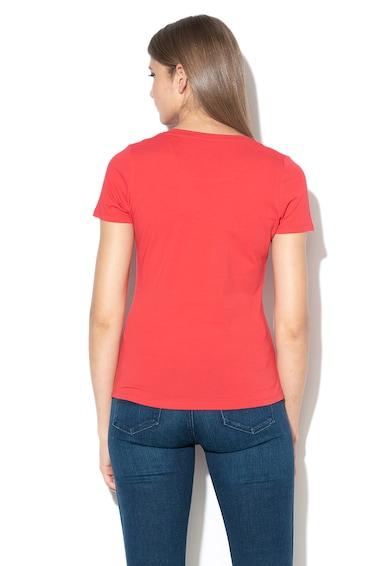 Pepe Jeans London Tricou cu imprimeu logo Virginia Femei