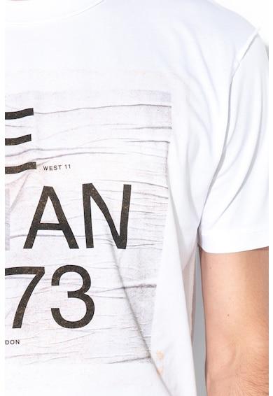 Pepe Jeans London Tricou lejer cu imprimeu text Brion Barbati