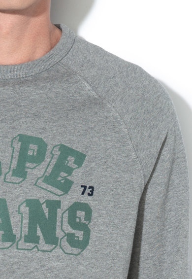 Pepe Jeans London Bluza sport regular fit cu logo Linus Barbati
