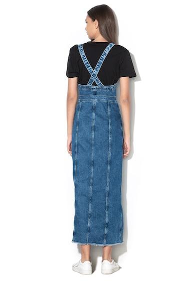 Pepe Jeans London Lottie pántos farmerruha - Dua Lipa x Pepe Jeans női