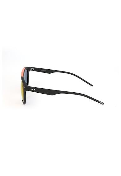 Polaroid Ochelari de soare unisex patrati, cu lentile polarizate Barbati