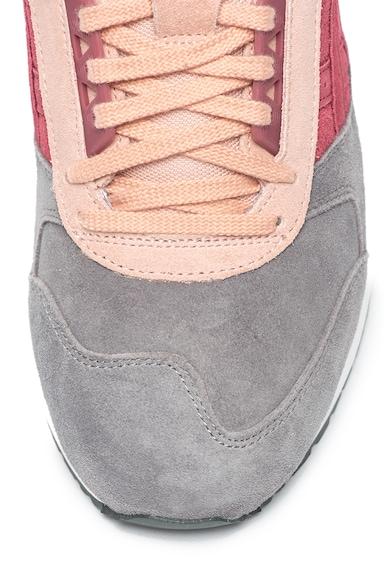 Asics Gel-Respector nyersbőr sneaker colorblock dizájnnal és kivehető talpbetéttel női