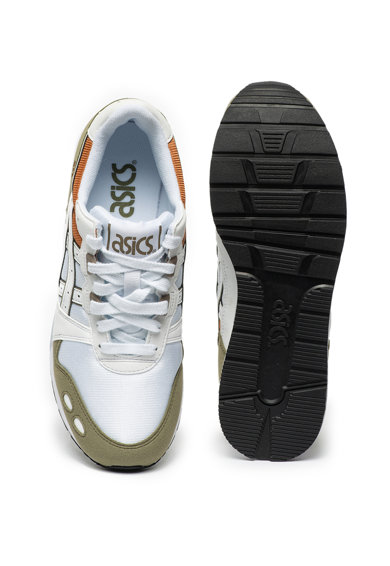 Asics Unisex Gel-Lyte uniszex vászon sneaker műbőr részletekkel női