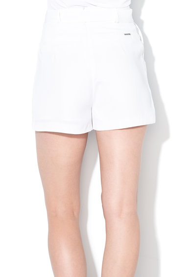 GUESS JEANS Къс панталон с висока талия и колан Жени