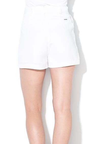 GUESS JEANS Pantaloni scurti cu talie inalta si curea Femei