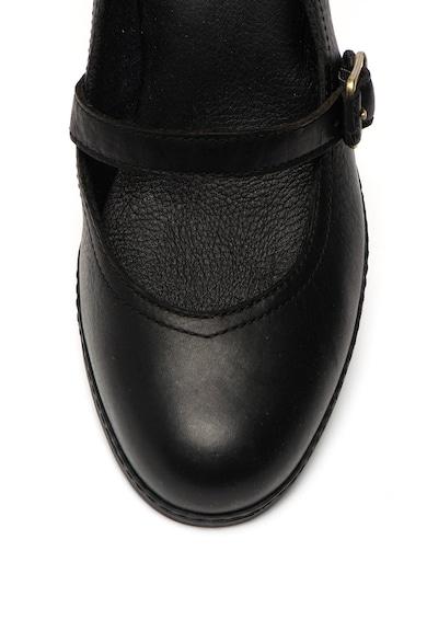 Timberland Montvale bőrcipő vastag sarokkal női