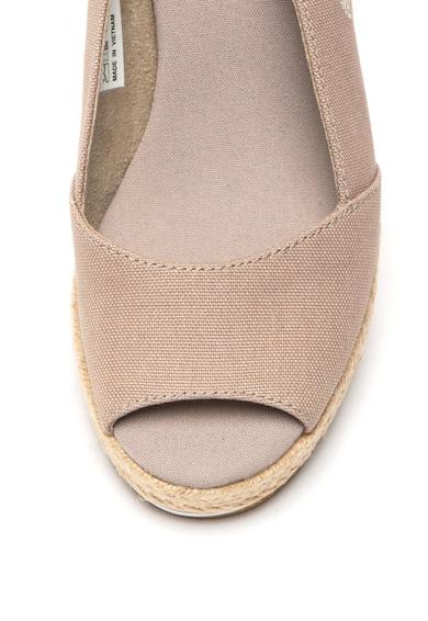 Timberland Sandale wedge cu garnituri de piele intoarsa Nice Coast Femei