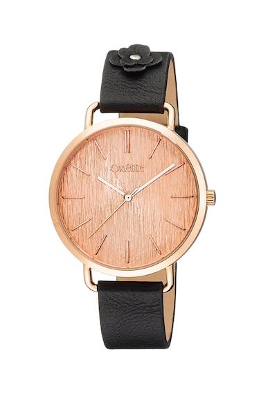 OXETTE Часовник с кожена каишка Жени