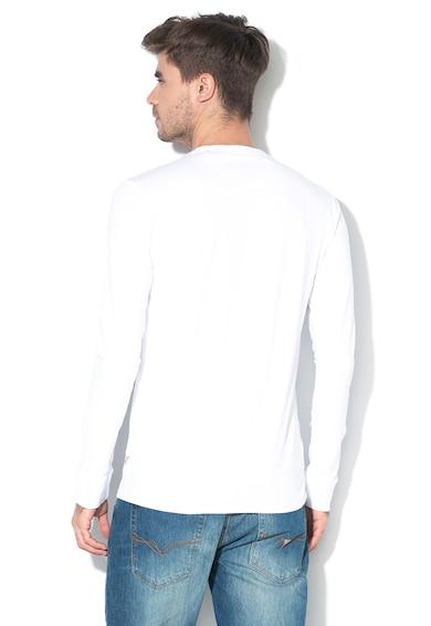 GUESS JEANS Bluza slim fit cu imprimeu logo Barbati