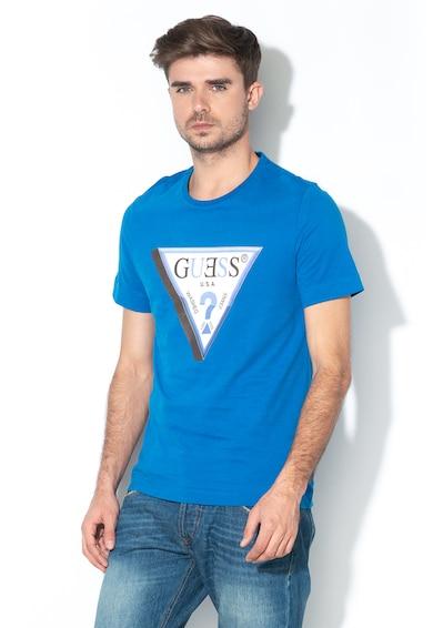 GUESS JEANS Tricou slim fit cu imprimeu logo 010 Barbati