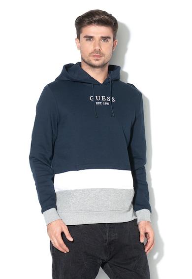 GUESS JEANS Normál fazonú pulóver polárbéléssel férfi
