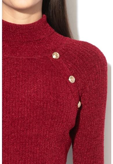 GUESS JEANS Rochie din tricot cu guler inalt Femei