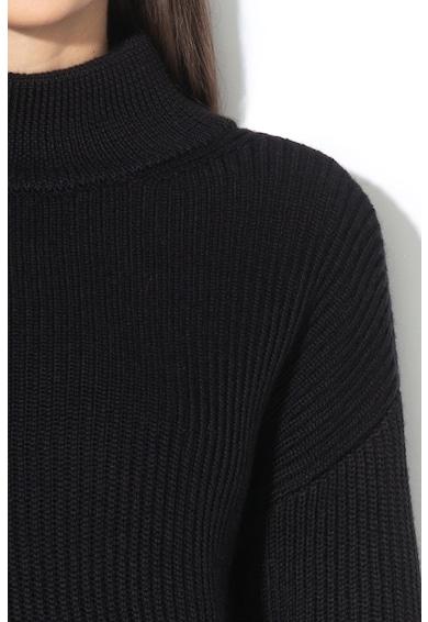 GUESS JEANS Пуловер с вълна и паднали ръкави Жени