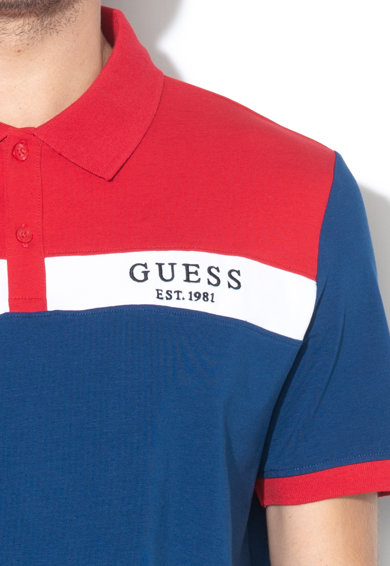 GUESS JEANS Tricou polo regular fit Barbati