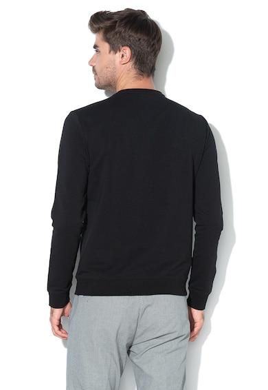 GUESS JEANS Bluza sport slim fit cu imprimeu logo Barbati