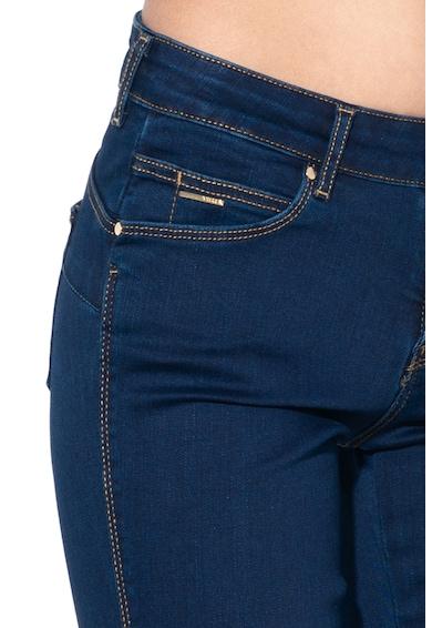 GUESS JEANS Blugi skinny din amestec de modal Femei