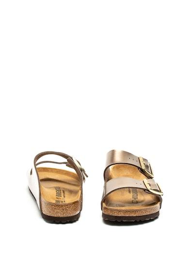 Birkenstock Papuci cu aspect metalizat Arizona Femei