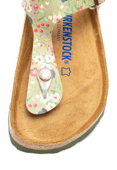 Birkenstock Papuci regular fit cu bareta separatoare si brant anatomic Gizeh Femei