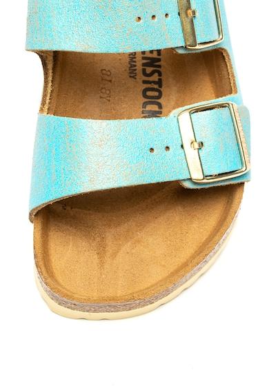 Birkenstock Papuci de piele intoarsa cu brant ergonomic Arizona Femei