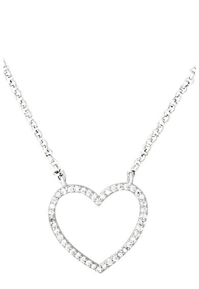 U.S. Polo Assn. Nyaklánc szív alakú medállal női