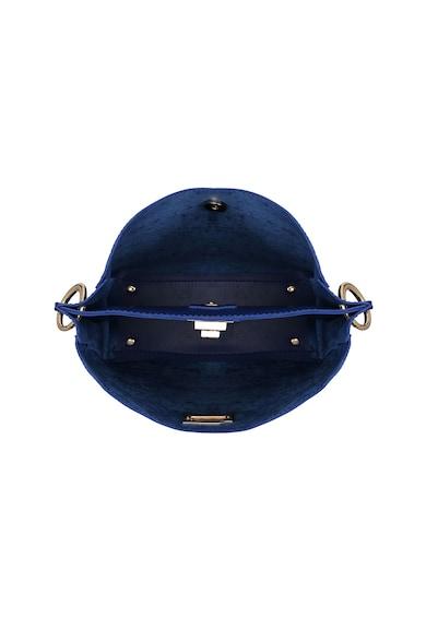 Beverly Hills Polo Club Geanta de piele Saffiano sintetica cu bareta pentru umar Femei
