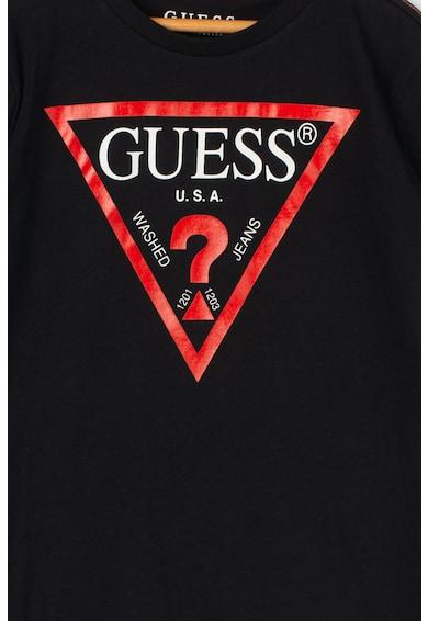 GUESS JEANS Тениска с гумирано лого Момчета