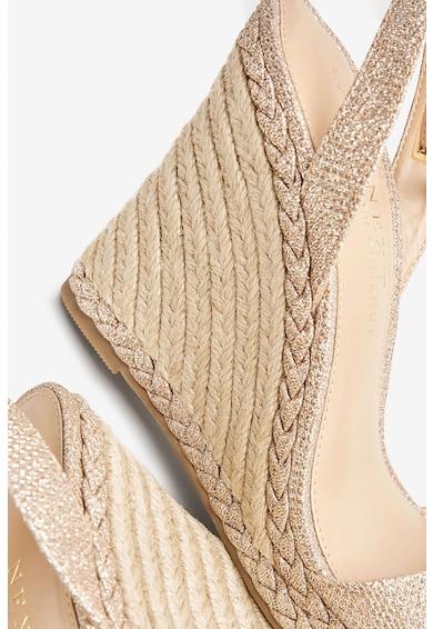 NEXT Sandale wedge tip espadrile Femei
