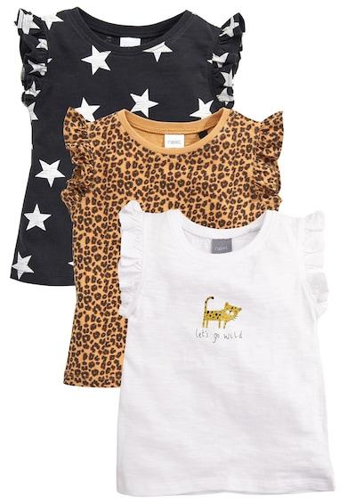 NEXT Különböző mintás póló szett - 3 db Lány