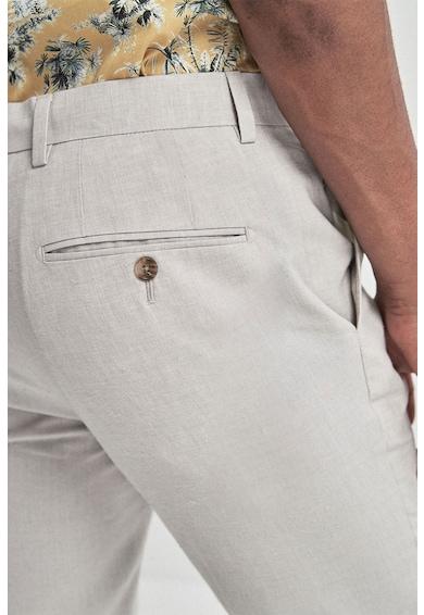 NEXT Pantaloni eleganti skinny, din amestec de in Barbati