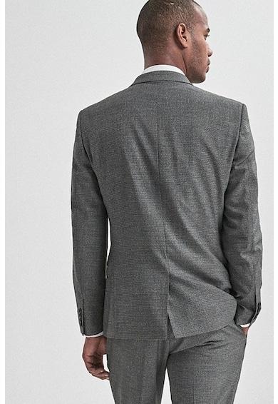NEXT Sacou elegant slim fit, cu aspect texturat Barbati