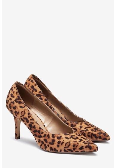 NEXT Pantofi de piele intoarsa ecologica, cu varf ascutit Femei