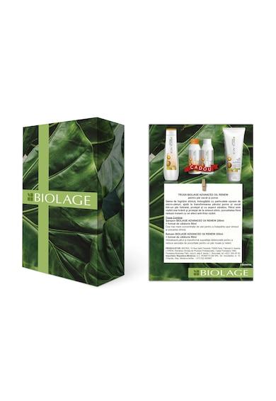 Biolage Trusa profesionala  Advanced Oil Renew pentru par uscat si poros: Sampon, 250 ml + Balsam, 200 ml + Sampon format de calatorie, 50 ml + Balsam format de calatorie, 50 ml Femei