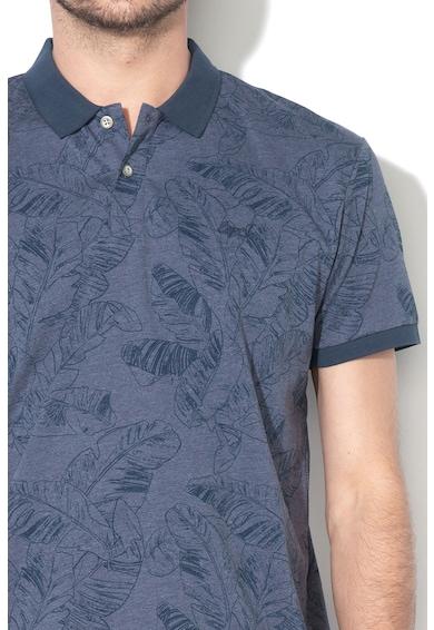 Esprit Tricou polo regular fit cu imprimeu tropical Barbati