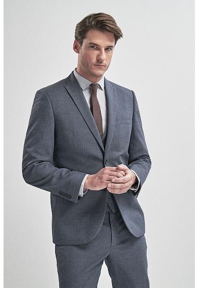 NEXT Sacou elegant tailored fit, cu aspect texturat Barbati