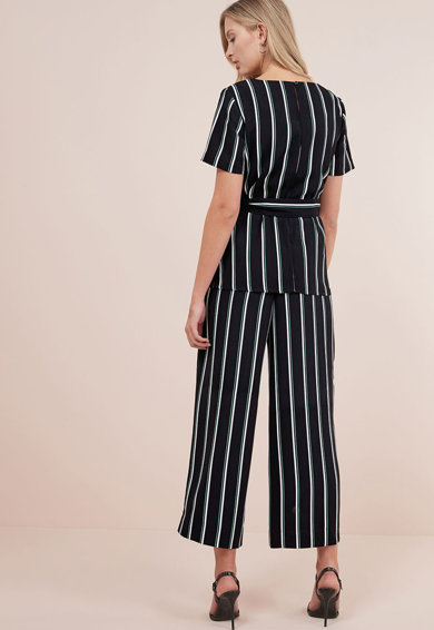 NEXT Bluza cu model in dungi si cordon Femei