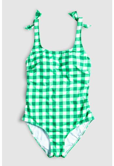 NEXT Costum de baie intreg, cu model in carouri Femei