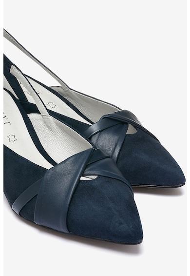 NEXT Pantofi slingback de piele, cu toc kitten Femei
