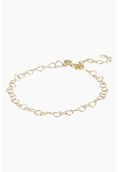 NEXT Arannyal bevont láncos karkötő női