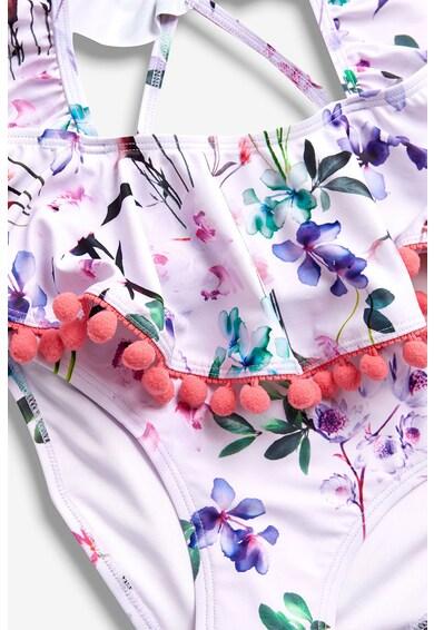 NEXT Costum de baie cu doua piese si model floral Fete