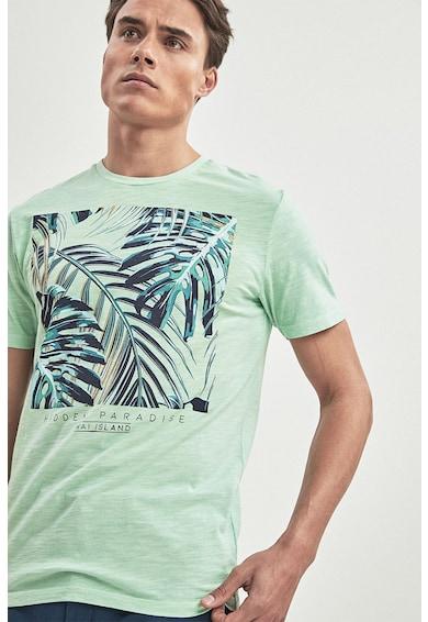 NEXT Tricou cu imprimeu tropical Barbati