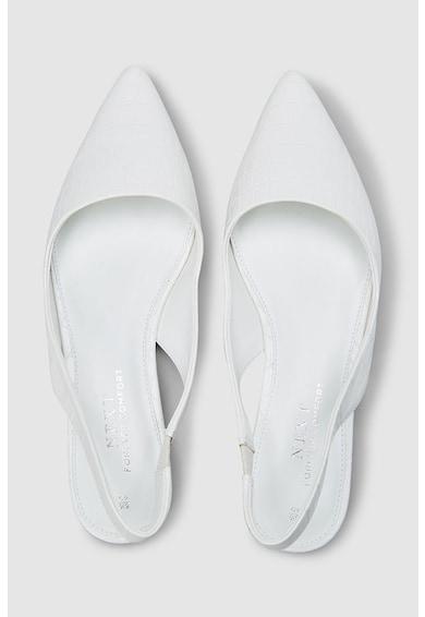 NEXT Hegyes orrú sarokpántos cipő női