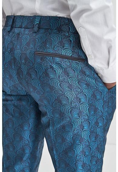 NEXT Pantaloni eleganti cu model paisley Barbati