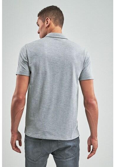 NEXT Galléros póló zsebbel az elején férfi