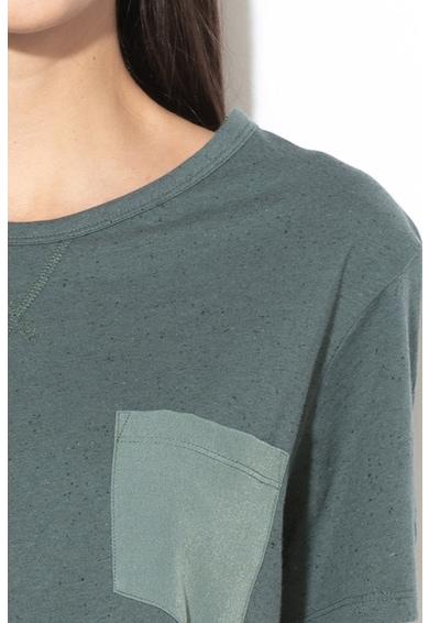 G-Star Raw Mysid laza fazonú póló zsebbel a mellrészen női