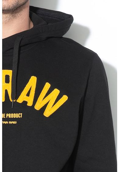 G-Star RAW Core kapucnis pulóver hímzett logóval férfi
