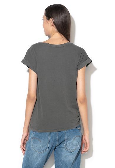 G-Star Raw Lyon organikuspamut póló csomózott részlettel női