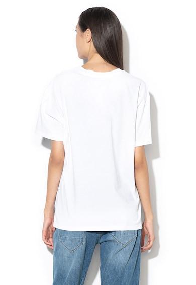 G-Star RAW Mintás laza fazonú organikuspamut póló női