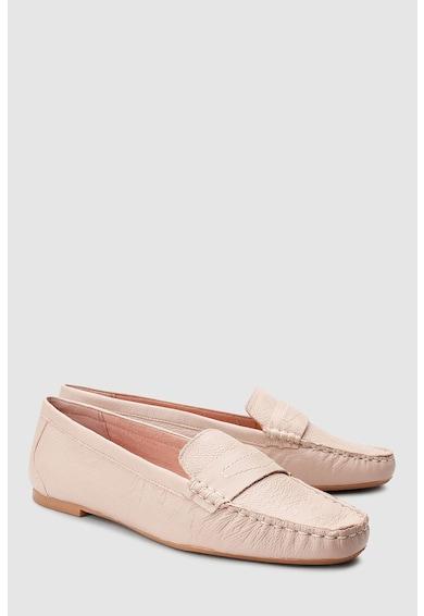 NEXT Pantofi penny loafer de piele Femei