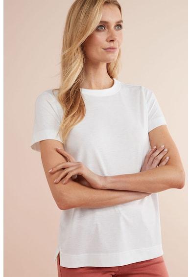 NEXT Tricou din amestec de viscoza, cu decolteu la baza gatului Femei